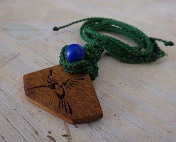 Macrame y madera
